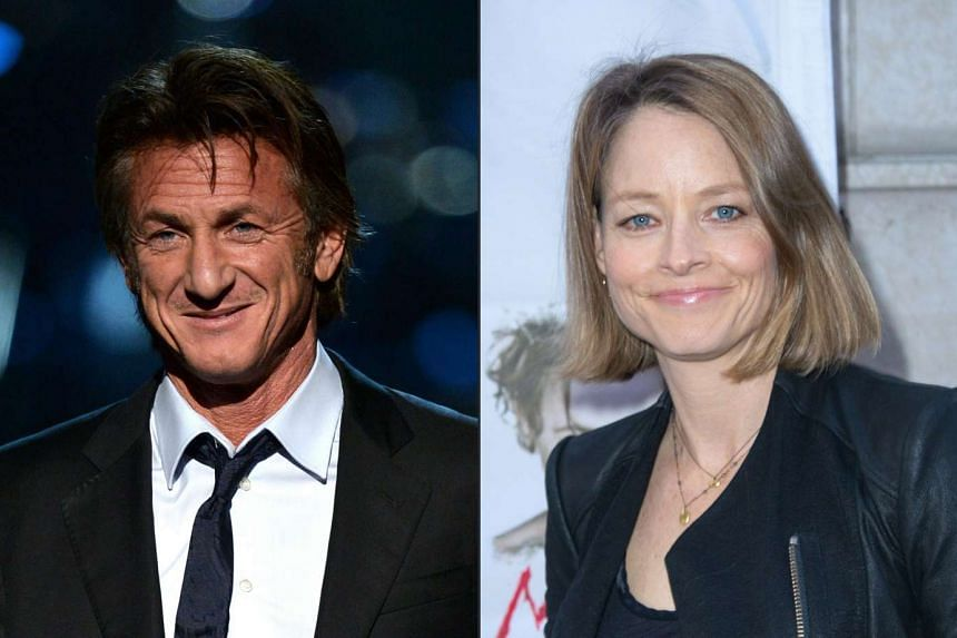 Hollywood stars turned directors Sean Penn (left) and Jodie Foster will show their latest films at the Cannes film festival next month.