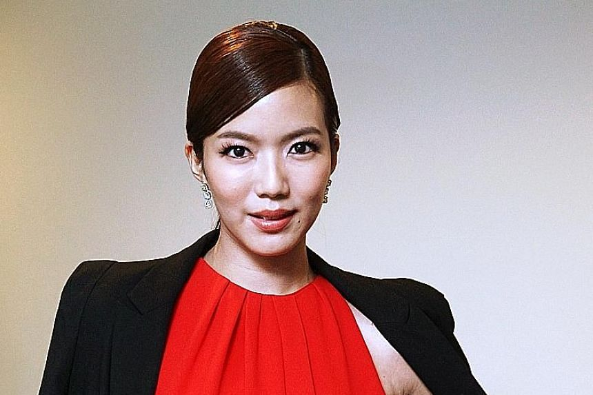 Home-grown actress Rui En is up for awards in three public-voting categories at the Star Awards tomorrow and on April 24.