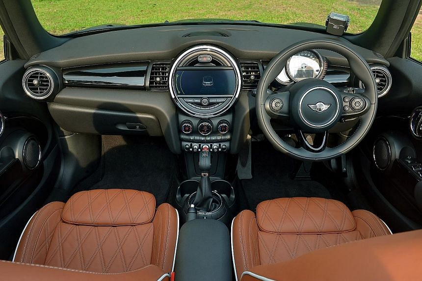 The new Mini Cooper S Convertible is quick, agile and well-balanced.