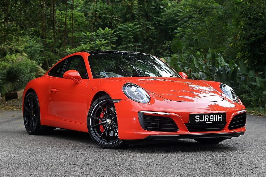 The rebooted 911 Carrera S is nearly as quiet as the Panamera, Porsche's luxury sedan.
