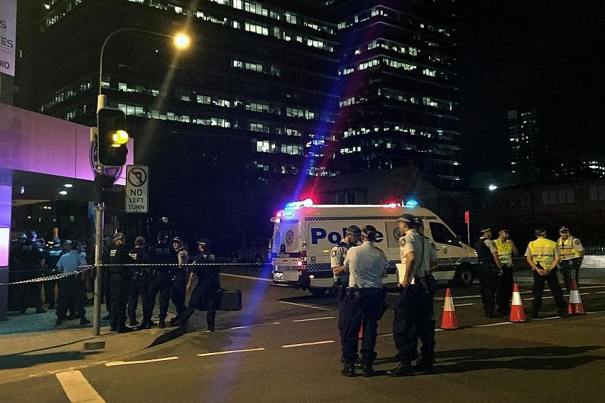 Police securing a site after a shooting last year that left two dead in Parramatta, a suburb in the metropolitan area of Sydney.