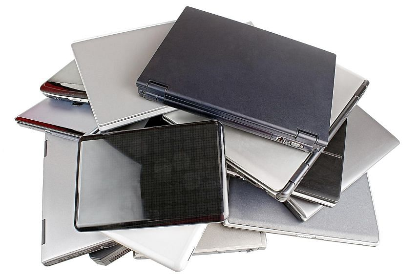 Electronic items, such as laptops, can be recycled and the NEA is considering a regulated national system to collect, recycle and manage e-waste.