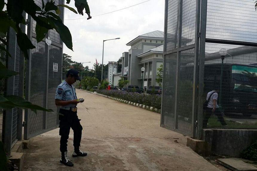 The Gunung Sindur prison in Bogor, West Java, where Jemaah Islamiah spiritual leader Abu Bakar Bashir was transferred to from Nusakambangan on April 16, 2016.