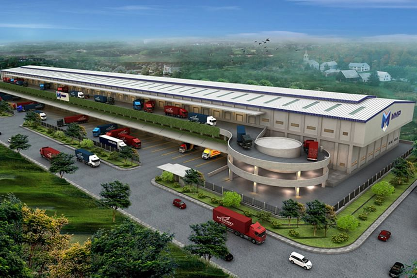 An artist's impression of a logistics warehouse which will be part of a portfolio to be jointly developed by GIC and MMP in the next three years.