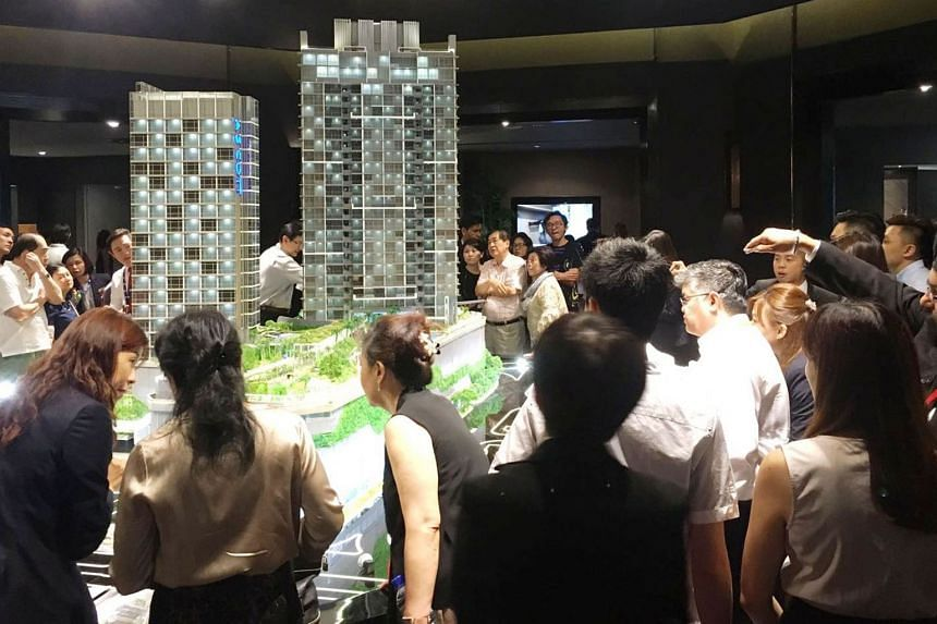 The best-selling EC project was Sim Lian Group's Wandervale in Choa Chu Kang, the first EC launched this year. It sold 292 of 534 units last month at a median price of $770 psf. CapitaLand's Cairnhill Nine was a crowd-puller for its prime location in Orch