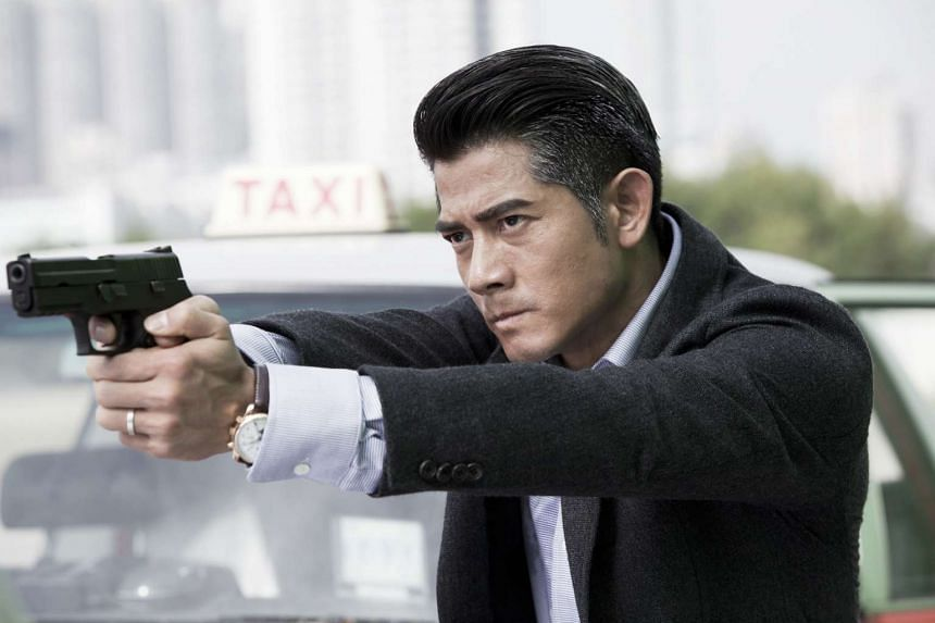 Actor Aaron Kwok in the movie Cold War.