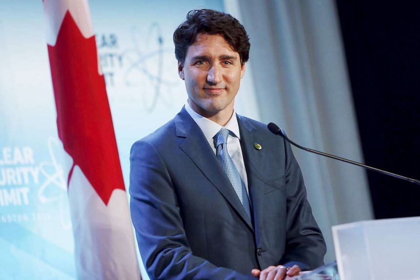 Canada's Prime Minister Justin Trudeau holds a news conference at the conclusion of the Nuclear Security Summit in Washington in this April 1, 2016, file photo.