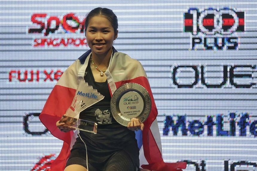 Thailand's Ratchanok Intanon will become the new world No. 1 after winning the OUE Singapore Open women's singles crown on April 17, 2016.