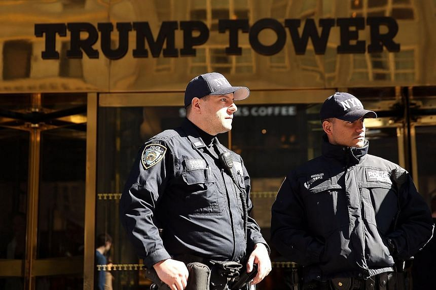 The crowning jewel of Mr Donald Trump's empire is Trump Tower on New York City's shopping street, Fifth Avenue.