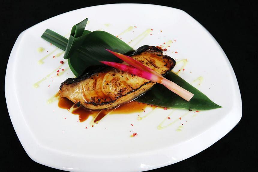 Black cod soy ($24.50, add $8.50 for foie gras)