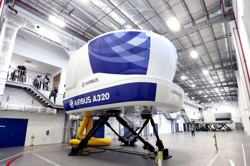 The new centre will offer courses to airlines across the region and when fully operational will feature eight full-flight simulators.