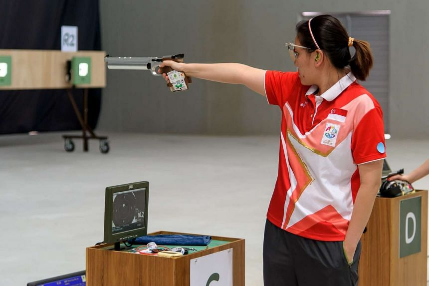 Shooter Teo Shun Xie won a bronze in the women's 10m air pistol event at the International Shooting Sport Federation World Cup in Rio de Janeiro.