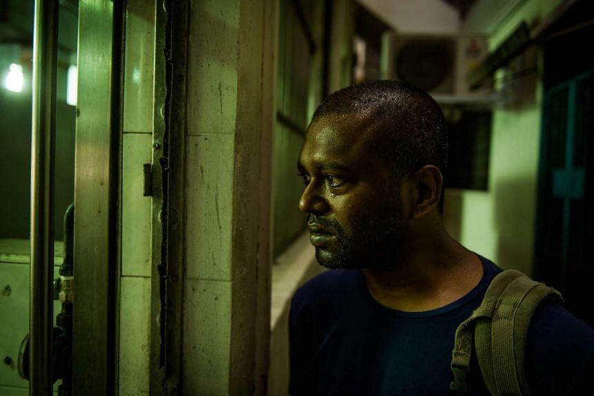 A cinema still of Singaporean film-maker K. Rajagopal's feature film A Yellow Bird.