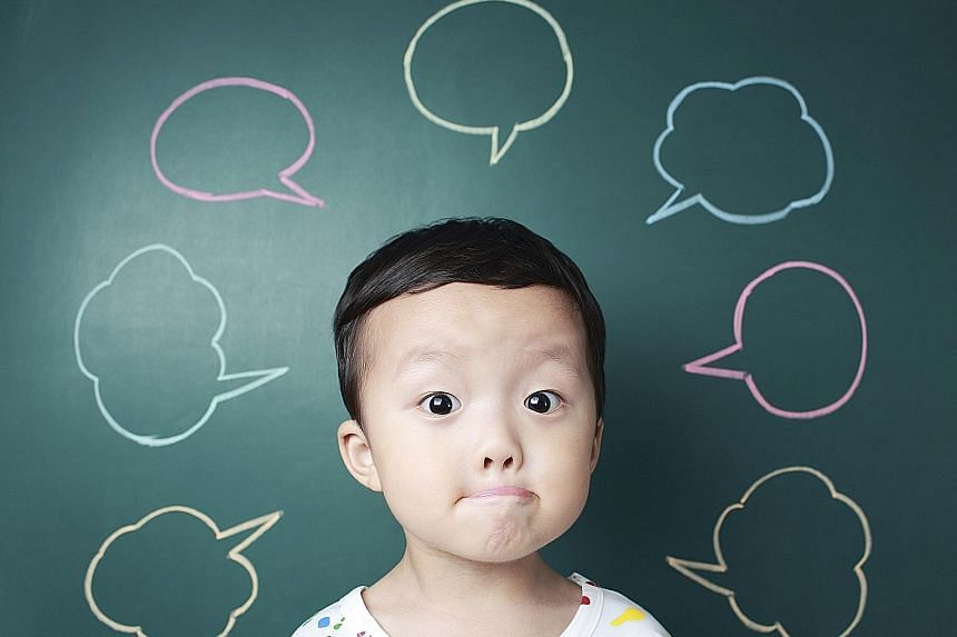 Children are born with the ability to differentiate between all 800 sounds that make up all the world's languages. But as they grow up, they become more specialised in the sounds of their native language and lose the ability to hear the differences b