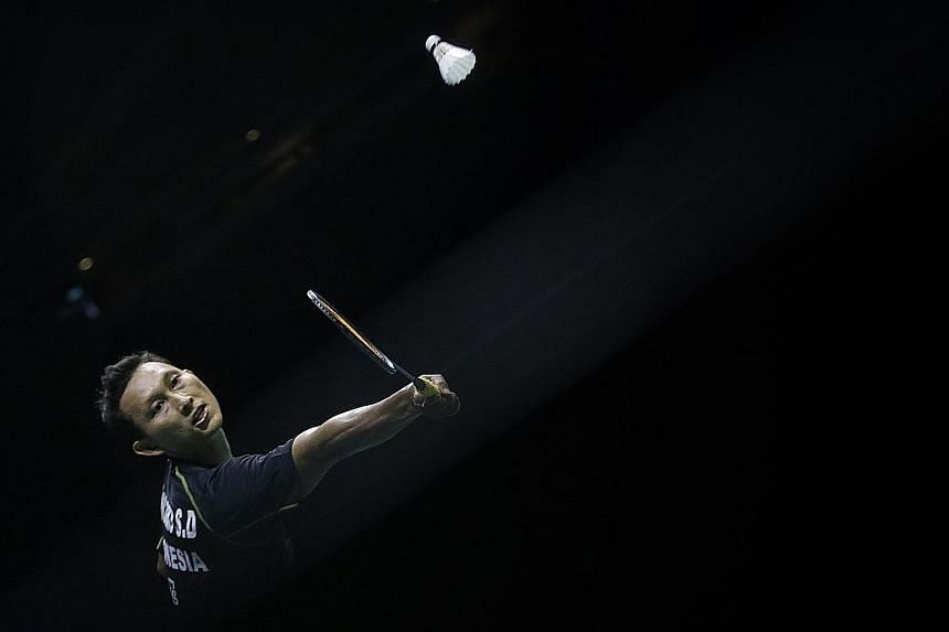 Sony Dwi Kuncoro's road to the title began in the qualifiers, as did his Indonesian compatriot Simon Santoso's two years ago. It is the world No. 56's second Singapore crown after his 2010 success.
