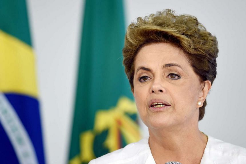 Brazilian President Dilma Rousseff  lost a crucial impeachment vote in the lower house of Congress on Sunday (April 17, 2016)