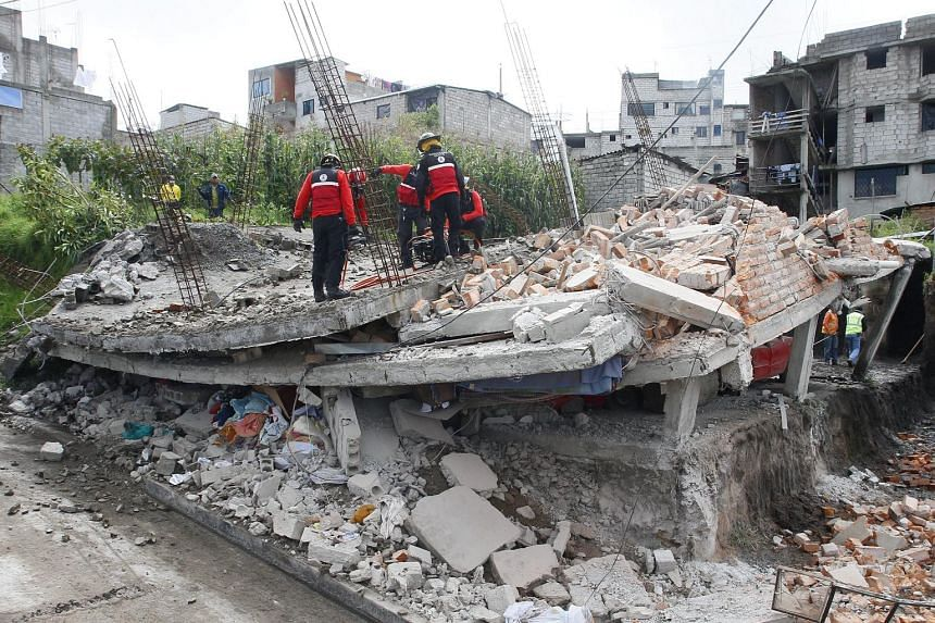 The death toll from Ecuador's biggest earthquake in decades soared to at least 246.