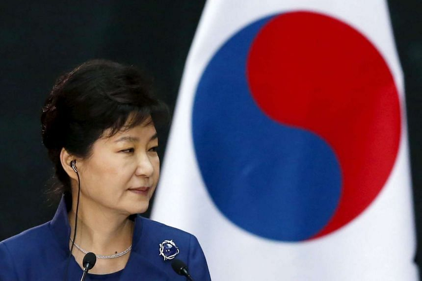 "South Korean President Park Geun Hye said on Monday (April 18) that she ""humbly"" accepted her ruling party's shock electoral defeat."