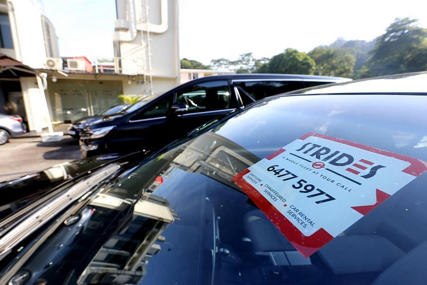 Strides Transportation Pte Ltd, a private hire car business by SMRT Taxis offering limousine services, chauffeured services and car rental services.
