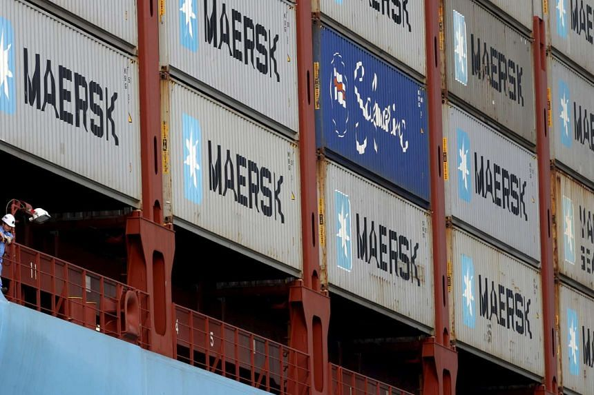Maersk is planning to raise freight rates for transporting containers from Asia to Northern Europe from May 1.