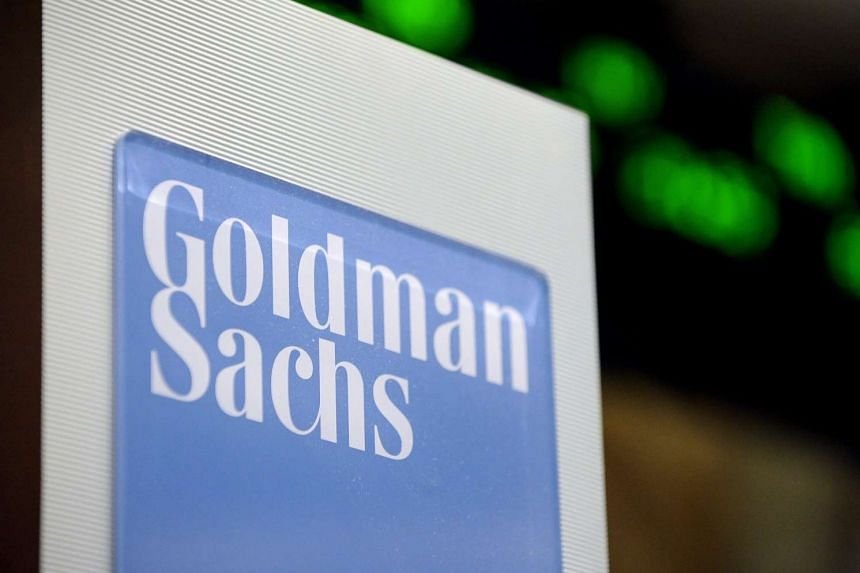Goldman Sachs Group Inc's quarterly profit dropped by more than half.