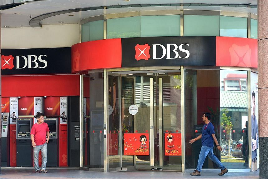 A DBS branch at Tampines Central.