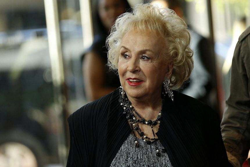 Actress Doris Roberts arriving at the Hollywood Film Awards in Beverly Hills, California on Nov 1, 2015.