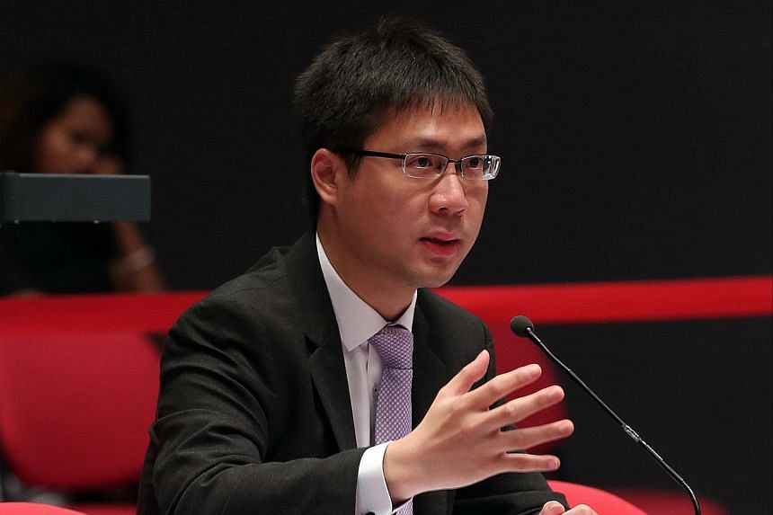 Mr Loke Hoe Yeong speaks during the Constitutional Commission 2016 public hearing, on April 18, 2016.