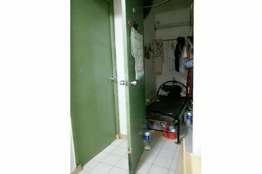 "A former tenant said that a Teban Gardens flat had up to 20 tenants. A ""room"" was created in the living room and even the storeroom was rented out."