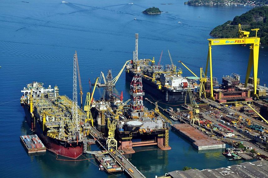 Keppel Corp, the world's largest builder of oil rigs, said it won't resume work for a key Brazilian client until the company restarts making payments on its orders.
