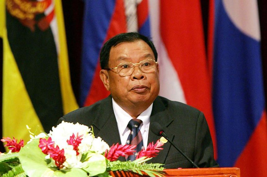 Communist Party chief Bounnhang Vorachit has been named as Laos' new President.