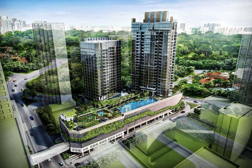 CapitaLand's upcoming integrated development at Cairnhill Road, which comprises Cairnhill Nine and Ascott Orchard Singapore.