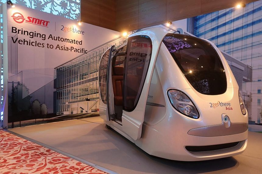 SMRT Services and 2getthere announce a joint venture to market, supply and operate 2getthere's Automated Vehicle systems in the Asia-Pacific region.