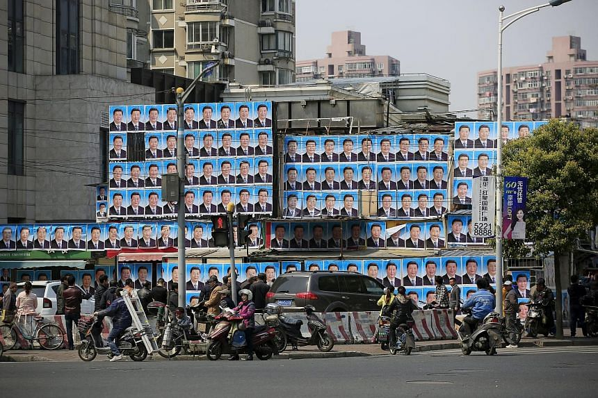 A building in Shanghai covered in posters of Mr Xi. Regardless of whether Mr Xi is cultivating a cult of personality or not, it can't be good for China if there is no room for constructive feedback to help improve government policies.