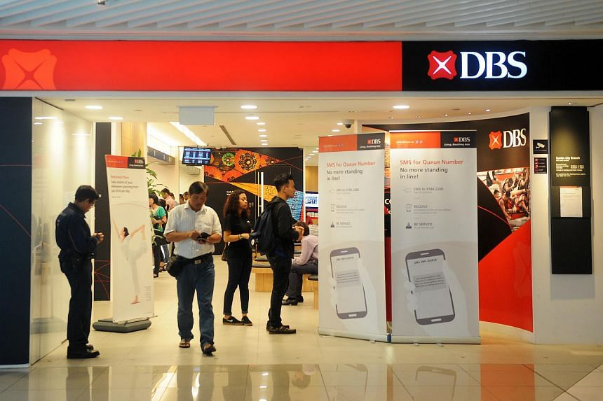 A DBS branch at Suntec City.
