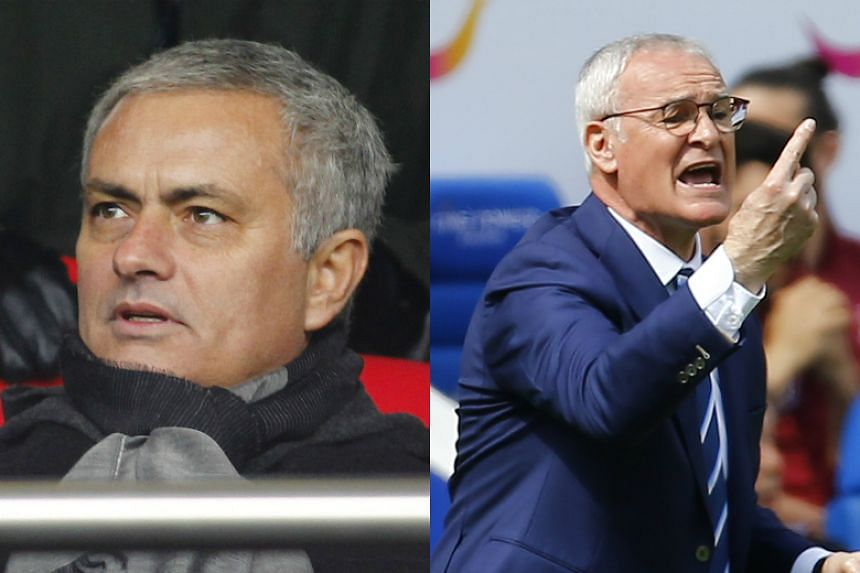Jose Mourinho (left) will manage England against a Rest of the World team coached by Leicester City manager Claudio Ranieri.