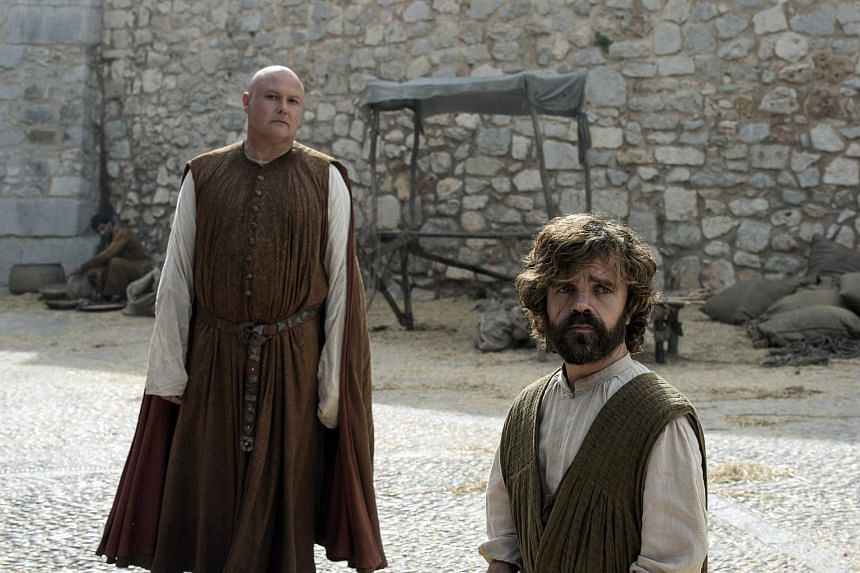 Peter Dinklage (right) and Conleth Hill star as Tyrion Lannister and Varys in Game of Thrones.