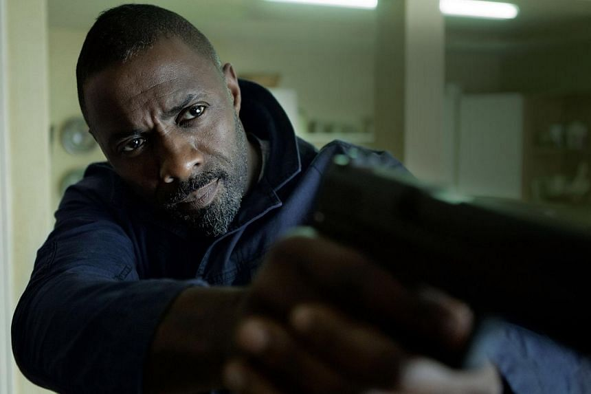 Cinema still from the film Bastille Day starring Idris Elba.