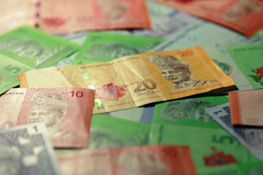Malaysian ringgit bank notes of different denominations are seen in this file picture.