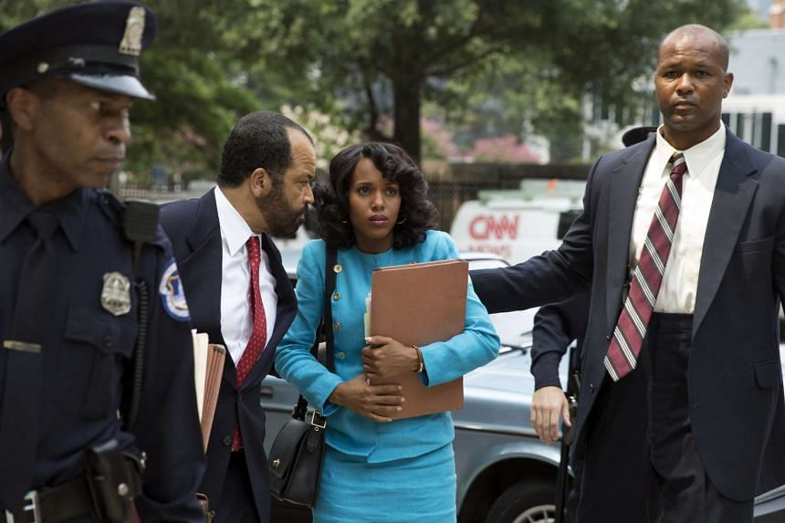Confirmation recounts the hearings triggered by Anita Hill's (played by Kerry Washington, above) allegations against her former boss.