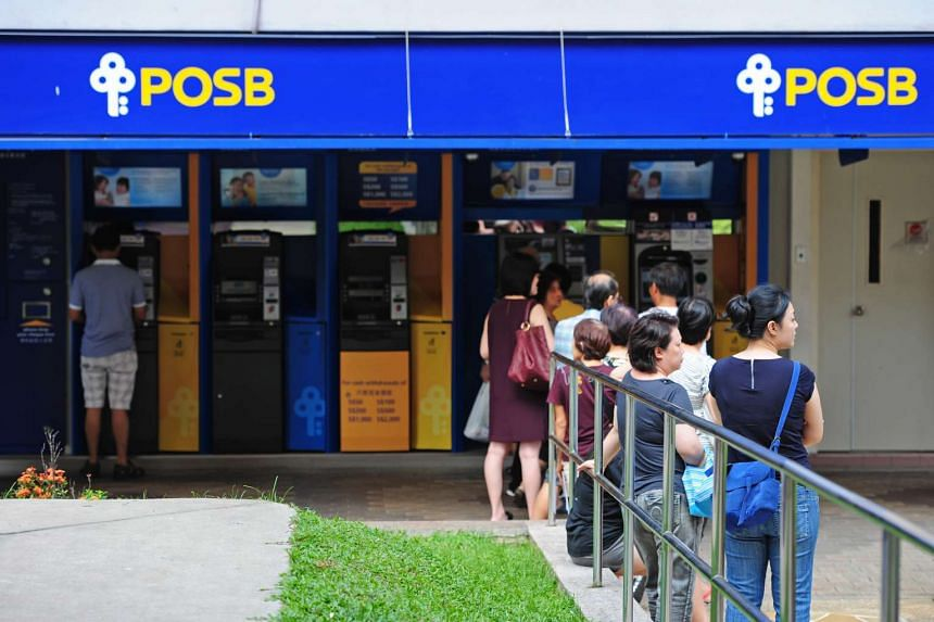 POSB won best mobile banking service at AsiaOne's People's Choice Awards 2016 on April 21.