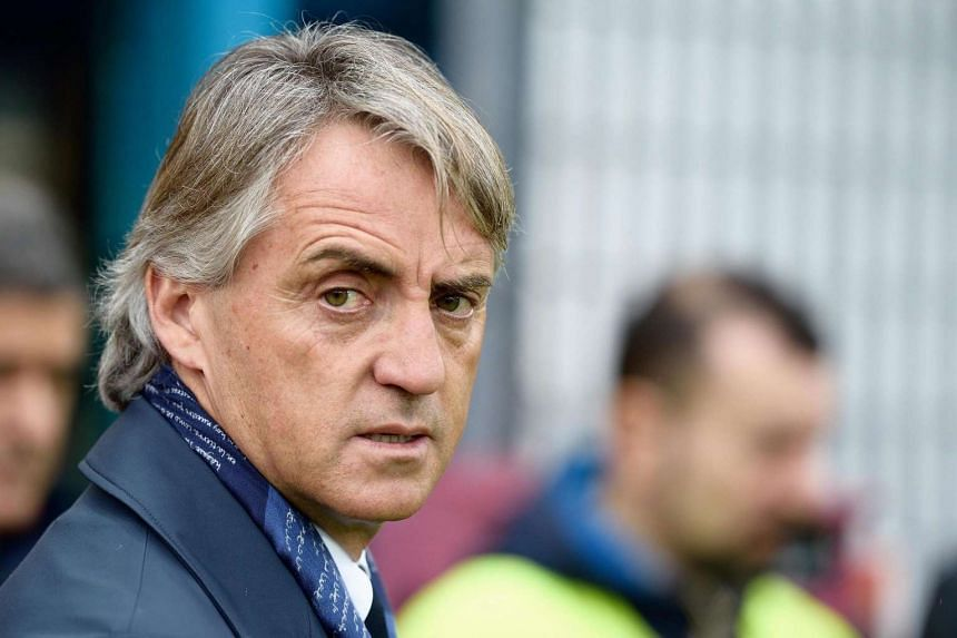 Inter Milan coach Roberto Mancini has admitted his side's chances of reaching next season's Champions League are virtually over.