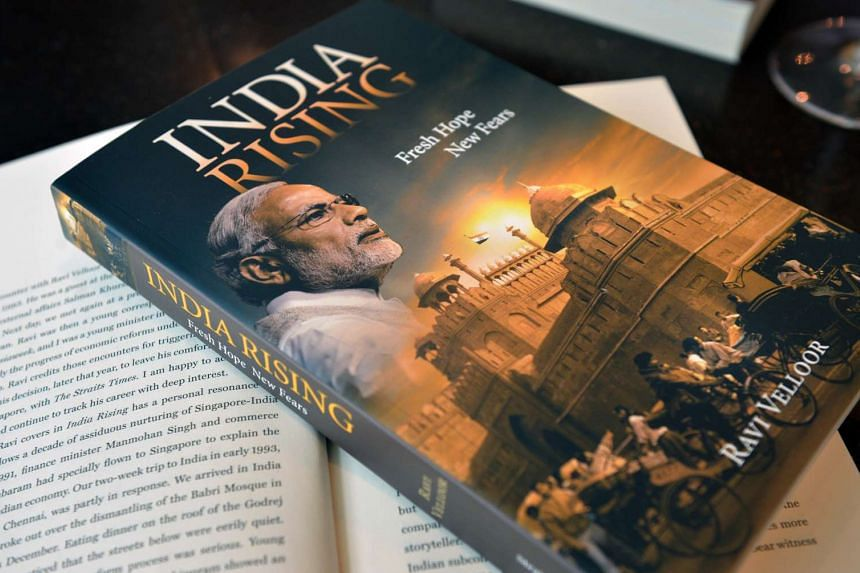 Ravi Velloor's new book titled India Rising: Fresh Hope, New Fears.