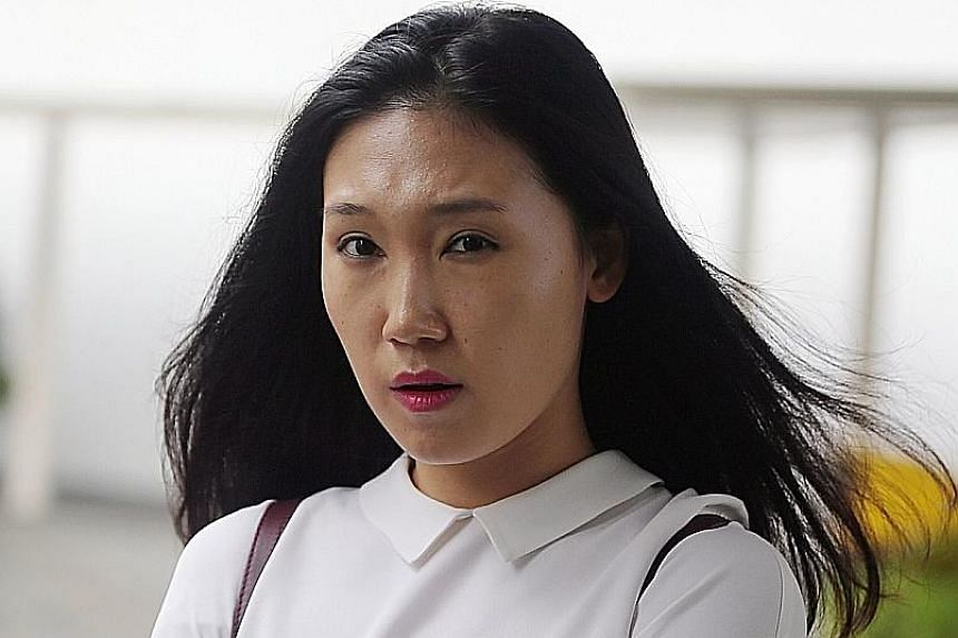 Zhao used criminal force and abusive language on police officers who were called to a complaint at a Sentosa club last year.