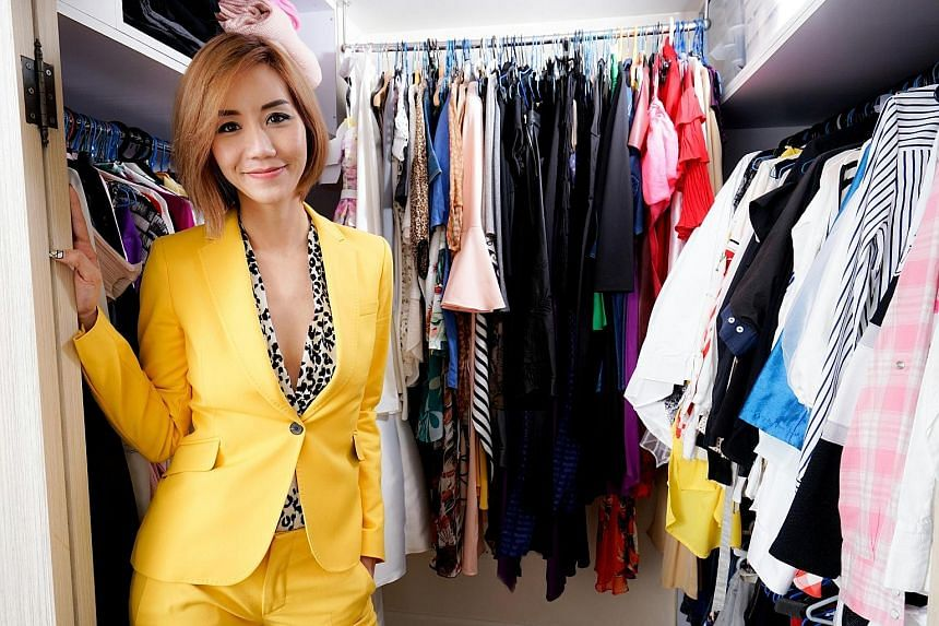 Ms Carol Loo, Asia-Pacific business director at communications agency Auditoire, wears this yellow Zara suit to business meetings.