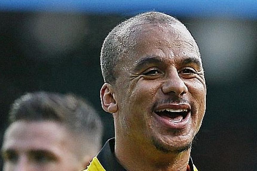 The overweight striker Gabriel Agbonlahor was seen at a party where laughing gas was present, hours after Aston Villa were relegated.