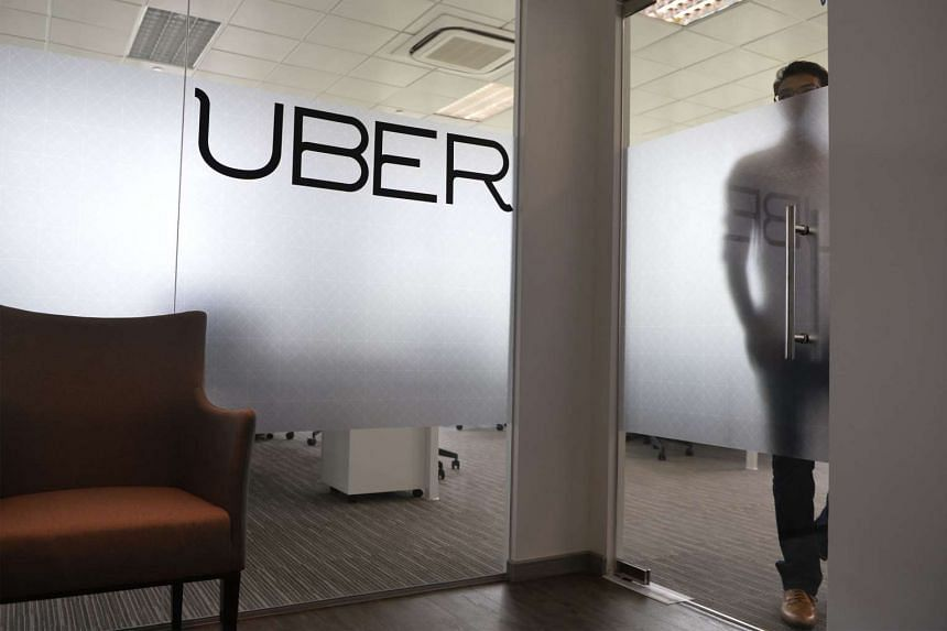 Uber's Singapore office in River Valley.
