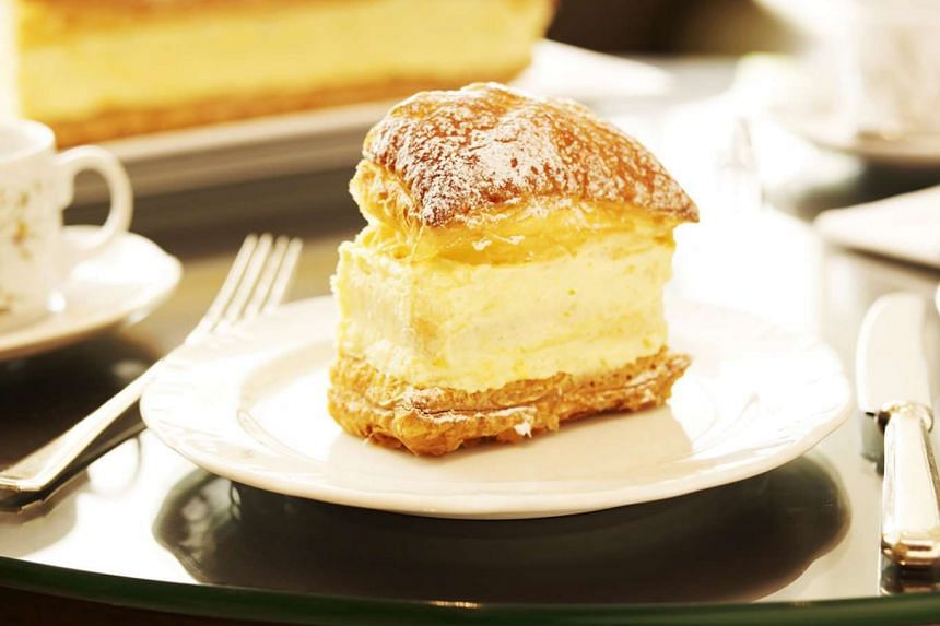 A file photo of a Goodwood Park Hotel durian pastry.