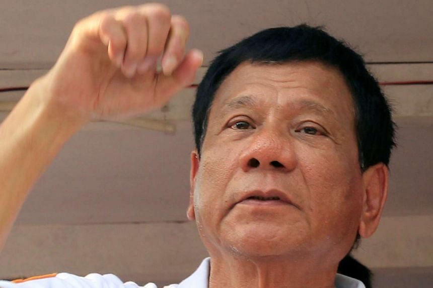 The Singapore government denied online claims that Prime Minister Lee Hsien Loong has endorsed Philippine presidential candidate Rodrigo Duterte (pictured).