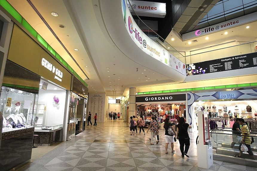 Gross revenue grew 5.2 per cent, mainly due to the opening of Phase 3 of Suntec City mall after its renovations, higher office revenue from Suntec City Office and higher revenue from Suntec Singapore.